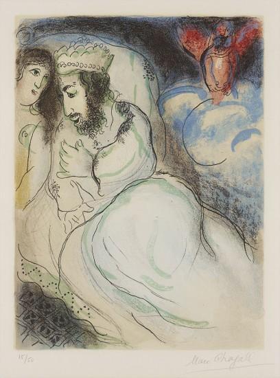 Sara et Abimélech, from Dessins pour La Bible