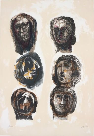 Six Heads Olympians