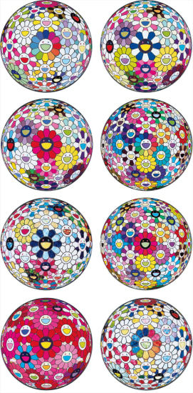 Flowerball: Want to Hold You; Awakening; Open Your Hands Wide; Thoughts on Matisse; The Flowerball's Painterly Challenge; Flowerball Multicolor; Thoughts on Picasso; and Scenery with a Rainbow in the Midst