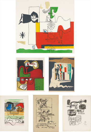 Totem; Portrait; Modular; Unité: two plates; and Don Quijote