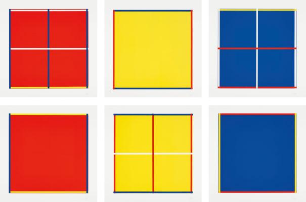Rot Gelb Blau Weiss (Red Yellow Blue White)