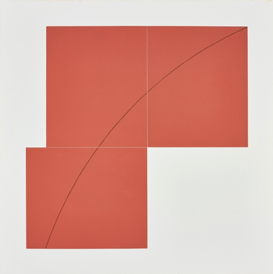 A Red, from Three Aquatints