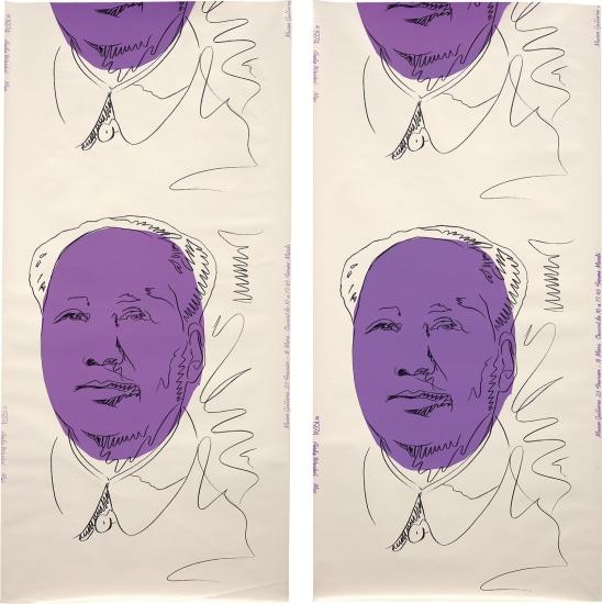 Mao (wallpaper), two panels