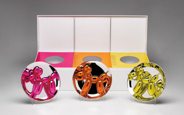 Balloon Dogs Presentation Set (Magenta, Orange, Yellow)