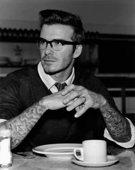 David Beckham, Hoxton Street, London, February