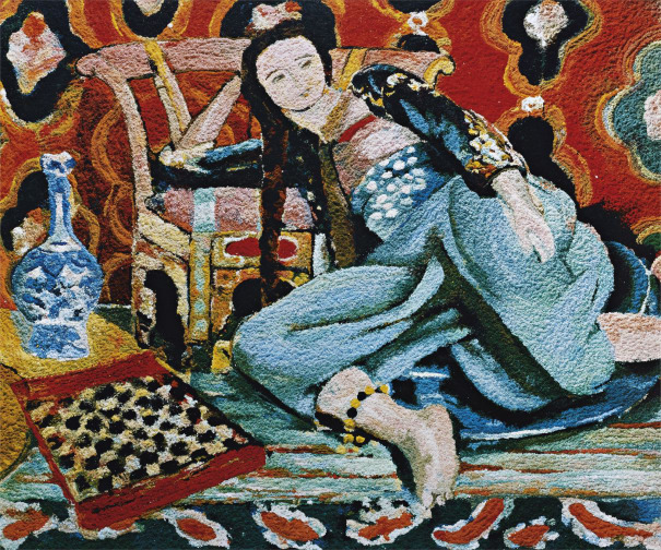 Vik Muniz - Odalisque with a Turkish Chair, after Henri Matisse from
