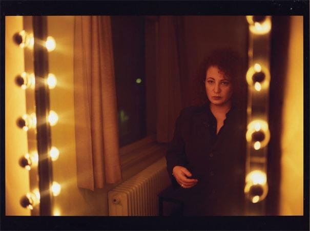 Self-portrait in the mirror, Hotel Baur au Lac, Zürich
