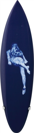 The Duke's Mermaid (Sapphire) from Sculptural Form - Surfboard
