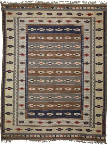 Large 'Ljusa mattan' (The Light) rug