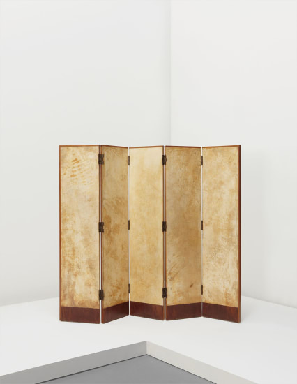 Five-panel screen