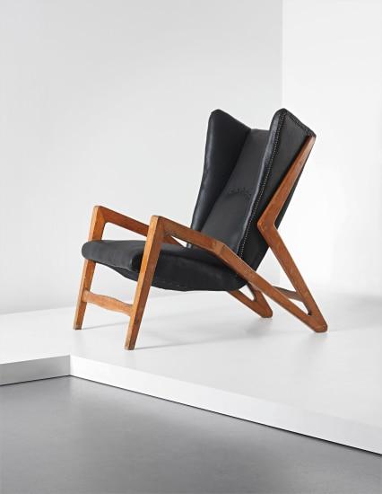 Rare wingback armchair