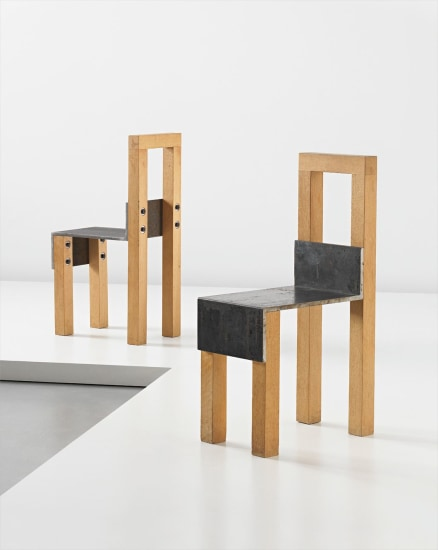 Pair of 'Sto' chairs