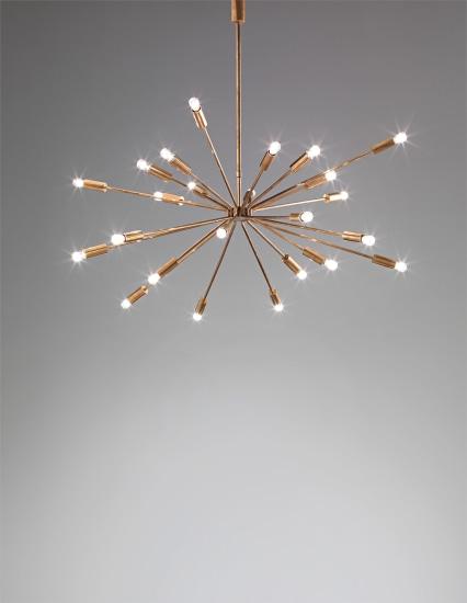'Fuoco d'artificio' ceiling light, model no. 2003