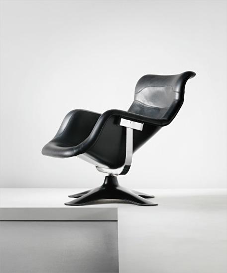 'Karuselli' swivel armchair