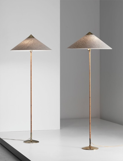 Pair of standard lamps, model no. 6902