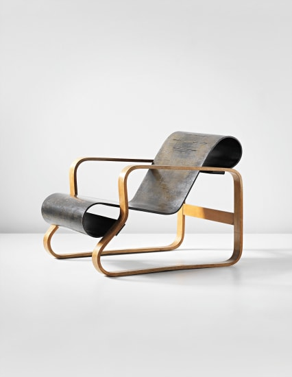 'Paimio' armchair, model no. 41/8-2, designed for the Tuberculosis Sanatorium, Paimio