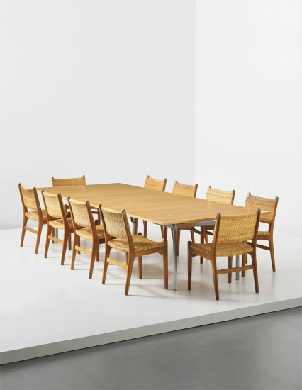 Set of ten chairs, model no. 31