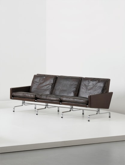 Three-seater sofa, model no. PK 31/3