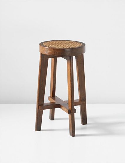 Stool, model no. PJ-SI-21-A, designed for the Panjab University science department, Chandigarh