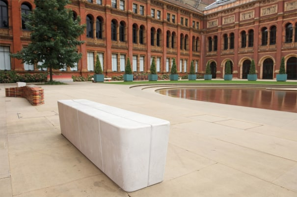 Unique 'Hitch' bench, for 'Bench Years', commissioned by the London Design Festival