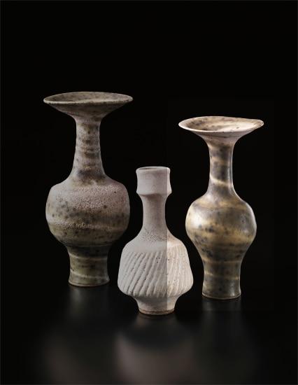 Vase with flaring neck