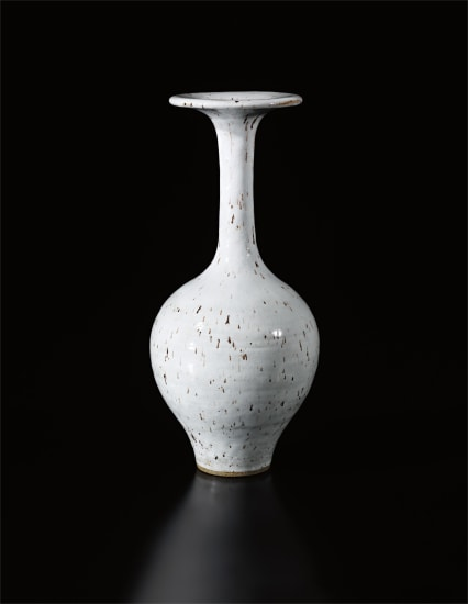 Tall vase with flaring lip
