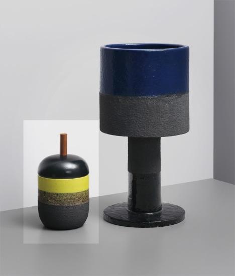Lidded pot, model no. 191, from the 'Ceramiche di lava' series