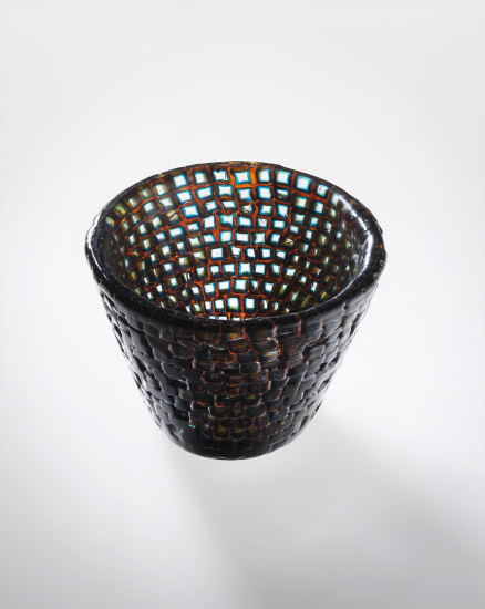Rare 'Murrine Romane' vase, model no. 4008