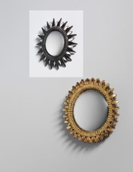'Soleil à Pointes' mirror, model no. 1