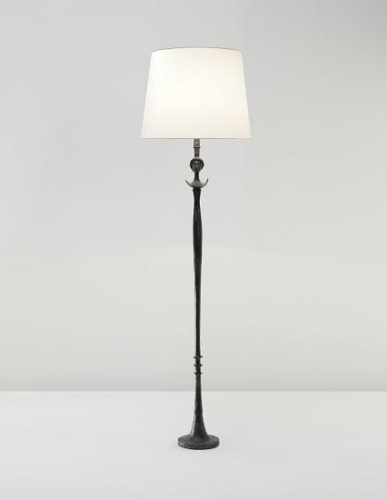 'Tête de femme' standard lamp