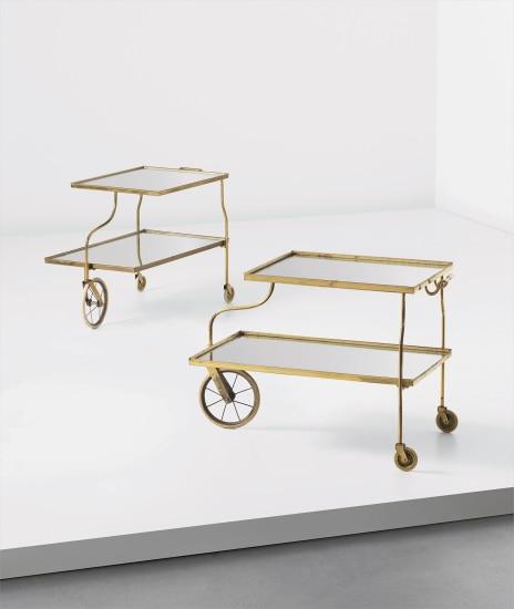 Pair of trolleys
