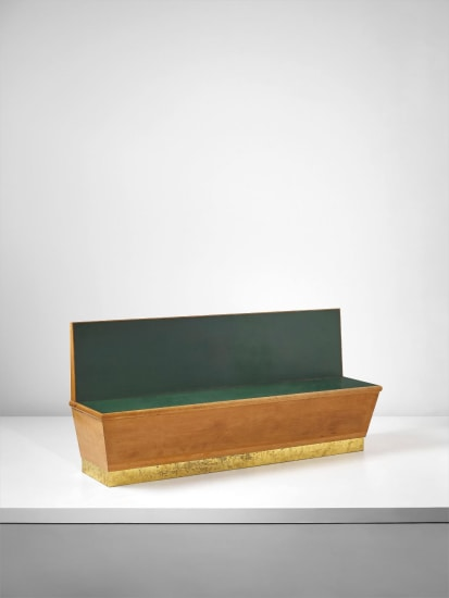 Bench, designed for the public administration offices, Forlí, Italy