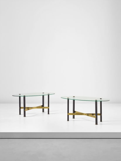 Pair of 'Canasta' tables