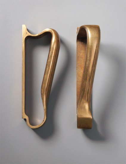 Pair of door handles