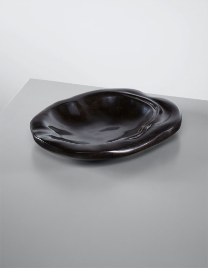 Rare shallow dish, gifted to his wife Marguerite Noll
