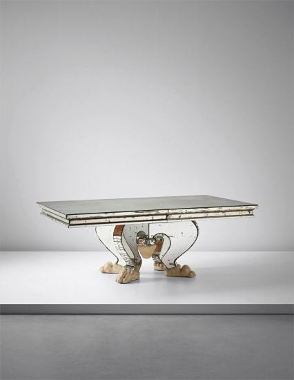 Rare and important dining table