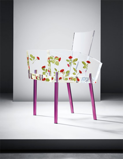 'Miss Blanche' chair