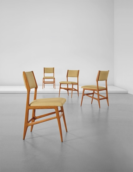 Set of four chairs, model no. 687