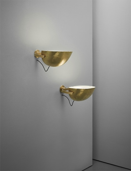 Pair of wall lights, designed for the offices at Aarhus Oil Factory A/S