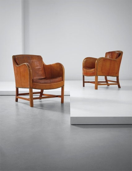Pair of 'Mix' easy chairs, model no. 4396