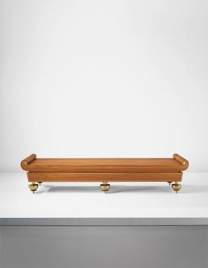 Rare bench, designed for the Antica Quadreria, Contini Bonacossi Palace, Florence