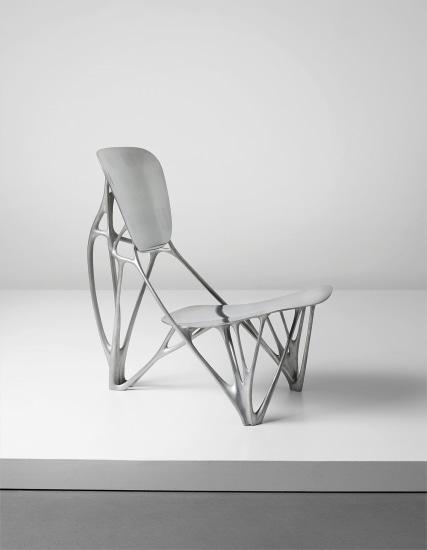 Important 'Bone' chair