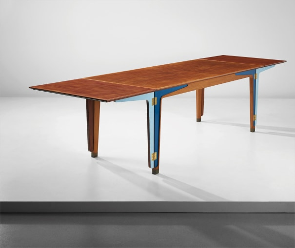 Unique and important extendable dining table, model no. FJ 44, designed for the 'Copenhagen Cabinetmakers' Guild' exhibition