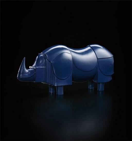 François-Xavier Lalanne - \'Rhinoceros bleu\', 1981 | Phillips
