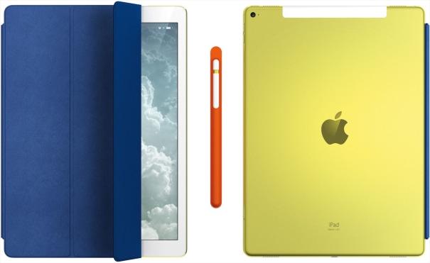 Unique iPad Pro, iPad Smart Cover, Apple Pencil and holder