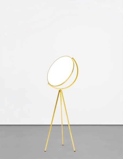 Unique 'Superloon' standard lamp