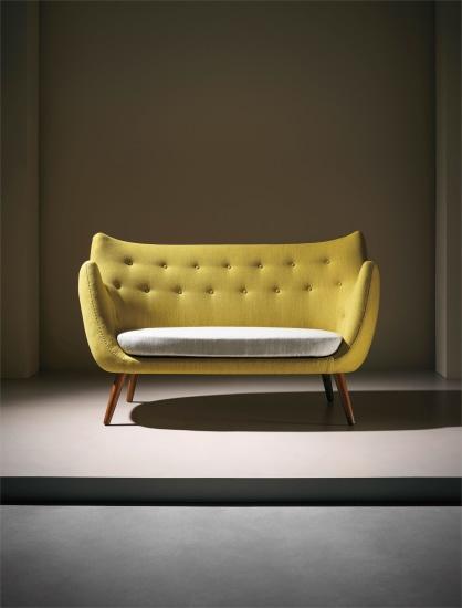Finn Juhl Early Poet Sofa Model No