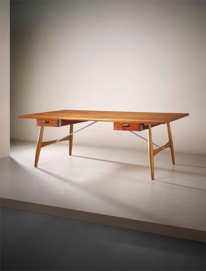 Large 'Architect's desk', model no. JH57