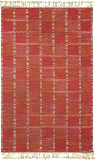 'Falurutan, röd' rug