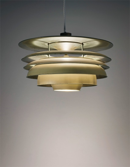 Poul Henningsen Rare ceiling 'Paris' for lightdesigned fgv7yYb6